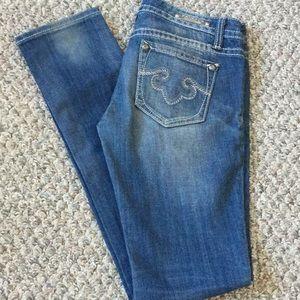 ReRock for Express skinny jeans sz 2r